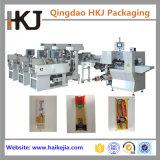 Pesatura automatica della tagliatella e macchina imballatrice con tre pesatori