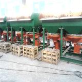 Manganeso, oro, circón, mineral hematita Separación de la máquina Uso de calar / Jigger