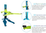 Levage mobile de véhicule de poste simple hydraulique mobile