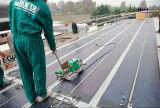 Adhesive-Backed гибкая аморфическая фотовольтайческая панель солнечных батарей 72W