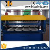 Feuille en aluminium de toiture de Double couche de Kxd 836-836 faisant la machine