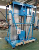 200kg Capacidade 18m Plataforma de elevador de trabalho em alumínio de alumínio