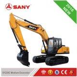 Sany Sy220 22 toneladas RC pequeña rueda de excavadoras hidráulicas con Certificación ISO