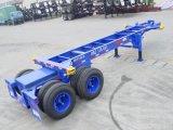 De verlengbare Semi Aanhangwagen van de Chassis van de Container van het Frame