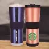 LFGB FDA de aço inoxidável de parede dupla Auto caneca e caneca de café (SH-SC55)