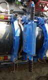 Máquina hidráulica da fusão da extremidade Dn90-355