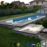 Pavimento em madeira de teca em madeira sólida Pavimento em parquet exterior
