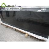 Фабрика Пилить-Отрезала отполированный краем поверхностный гранит Монголии черный