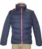 Unisex куртка пальто отдыха Hoody полиэфира взрослых зимы способа Windproof водоустойчивым выстеганная военно-морским флотом