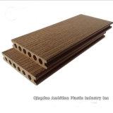 Decking de WPC pour le plancher composé en plastique en bois
