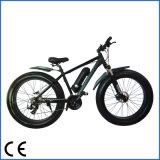 bicicleta eléctrica del neumático gordo del interruptor de 48V 500W, conduciendo en la playa y la montaña (OKM-1201)