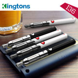 Kingtons EGO Vape Pen avec Airflow réglable 2.0ml Clearomizer