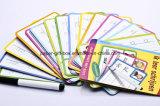 Sammelpacks mit Karten und Feder