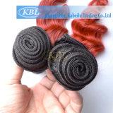 Tessuto dei capelli di tono di Brailian due