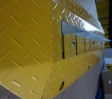 Grado de un amarillo de acero asesino de neumáticos con entrega rápida