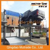 Sistema hidráulico del estacionamiento de la pila del poste simple del estacionamiento dos
