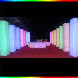 El LED enciende para arriba decoraciones al aire libre impermeables de la lámpara del paisaje del RGB que brillan intensamente