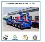 الصين مموّن 10 محور العجلة منخفضة سرير شاحنة مقطورة مع سعر جيّدة