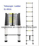 두 배 알루미늄 망원경 사다리 (EL-002A)