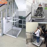 세륨 싼 가격 홈 기울어지는 휠체어 승강기