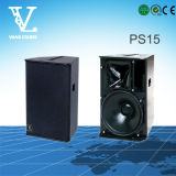 PS15 2-Way 15 '' altavoz portátil utilizado como altavoces multimedia