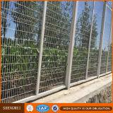 溶接された裏庭の金属の安全塀の正方形のポストの庭の塀