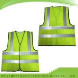 T-shirt r3fléchissant de sécurité de visibilité élevée de la classe 2 de la norme ANSI 107