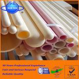 tubo refractario de cerámica del alúmina del tubo 99.5% del alúmina de alta temperatura 1750c