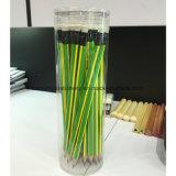 Crayon de plomb noir de qualité supérieure avec gomme à effacer