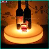 LED 무선은 플라스틱 포도주 과일 쟁반을 불이 켜진다