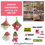 Venta al por mayor de la Navidad de la decoración de la Navidad (ZY15Y169-1-2 el 14CM)