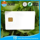 Metter in contatto con la scheda chiave del chip del PVC di RFID dell'hotel in bianco del PVC