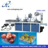 Contenedor desechable de la bandeja de la fruta que forma la máquina (DHBGJ-350L)