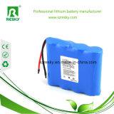 paquete de la batería del Li-ion Icr18650 14.8V 2200mAh con el conector