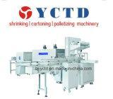 Machine à emballer automatique de rétrécissement de film de PE de bouteille (YCTD)