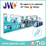 생산 라인 Jwc Kbd Sv를 만드는 가득 차있는 자동 귀환 제어 장치 Ultra-Thin 처분할 수 있는 위생 패드