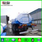 6 x 4 25cbm 20t 기름 수송을%s 알루미늄 연료 유조 트럭