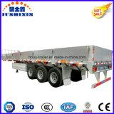 고강도 강철 3axles 50ton 13m 대 (40FT)의 측벽 또는 옆 널 화물 트럭 공용품 트레일러