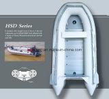 Bateau gonflable de PVC (HSD2.3m-4.6m)