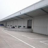 Estructura de acero para la instalación del empaquetado y de procesamiento