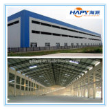 Casa prefabricada de la estructura de acero de la alta calidad del bajo costo