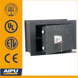 Double Bitted Key Lock Wall Safe avec 3mm Body, 8mm Door (WS0811K257-01)