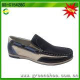 キャンバスの高く上の帯電防止靴