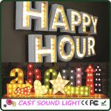 표시 Lights&#160를 광고하는 3D LED 편지 또는 수;