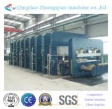 Machine de vulcanisation de presse de bande de conveyeur de noyau de textile