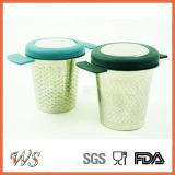 Стрейнер чая чашки кружки фильтра чая нержавеющей стали Infuser чая Ws-If002