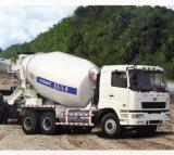 Eixos diesel do caminhão pesado 3 do caminhão do misturador concreto de Camc 8*4 6*4