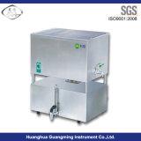 Distillatore elettrotermico raffreddato ad aria dell'acqua dell'acciaio inossidabile