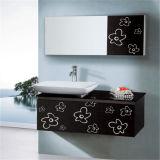Modules de salle de bains fixés au mur classiques d'acier inoxydable