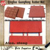 Couvre-tapis en caoutchouc de verrouillage d'étage de plancher en caoutchouc